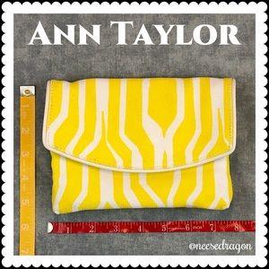👜 Ann Taylor Spring/Summer Fabric Clutch, Mini